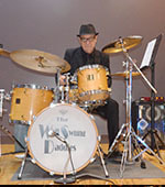 Wally Kafoa Drummer - Winifred Atwell, Jazz with the legendary Ricky May was MD for the Delltones & played he blues with The Drifters.